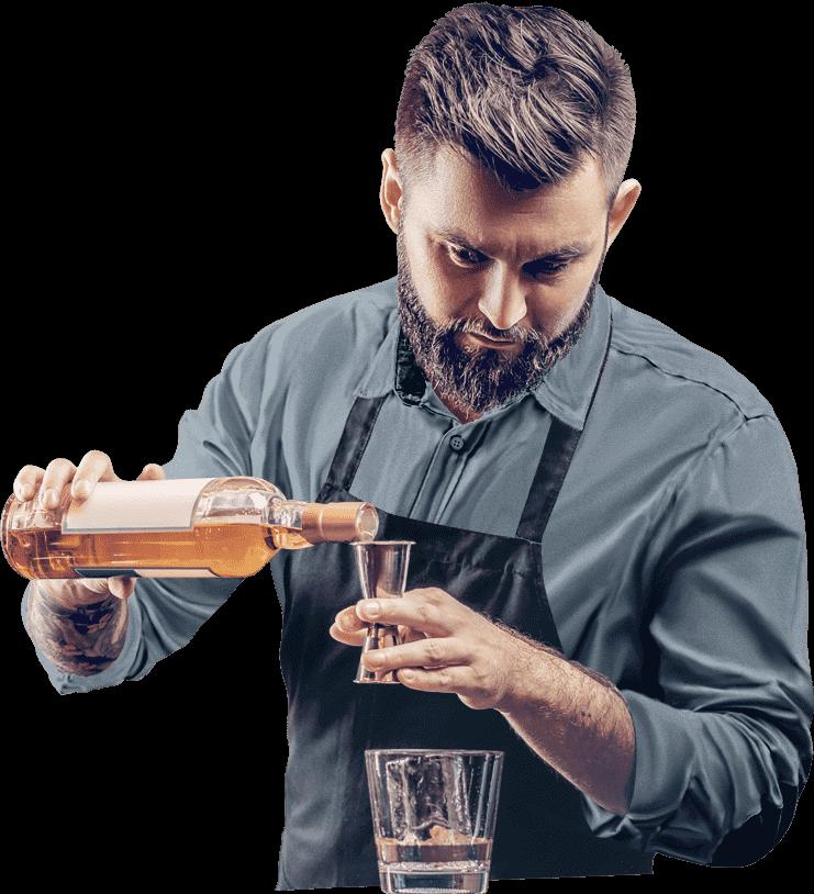 Крутой бармен